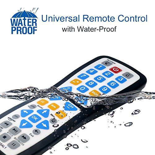 Luckystar 2 Device Universal Waterproof Easy Clean Remote control Support for All Smart TV, LED/LCD TV, Apple TV,Vizio TV, LG, Samsung And Roku Player, BluRay DVD, Audio System by Luckystar (Image #3)