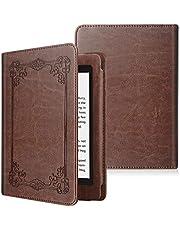 Fintie Folio Cover do Kindle Paperwhite (wszystkie generacje 2012-2018) - Torba ochronna ze skóry syntetycznej z funkcją automatycznego usypiania / budzenia do czytnika Amazon Kindle Paperwhite, vintage brąz