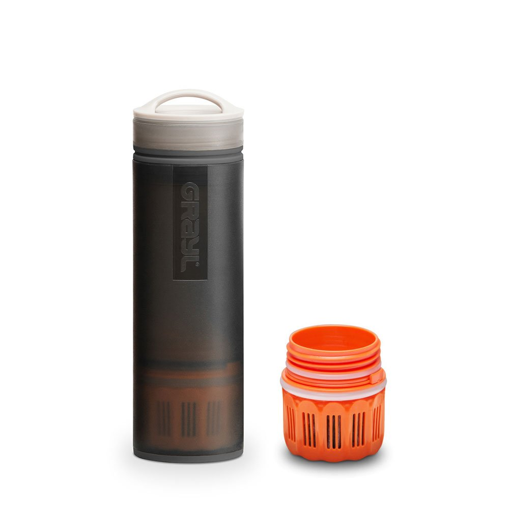 graul Ultralight Outdoor- & Reise- Wasserfilter schwarz mit Ersatzfilter