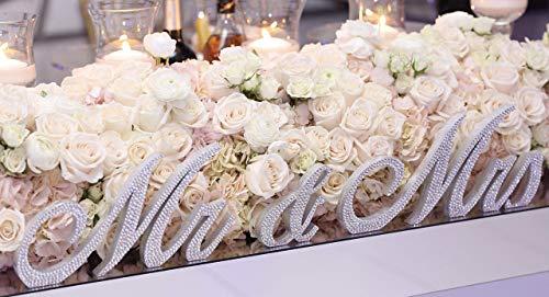 - Swarovski Crystal wedding signs MR & MRS 7