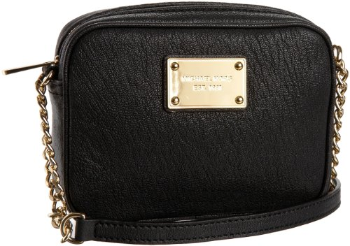 MICHAEL Michael Kors Jet Set Small Cross-Body,Black,one size