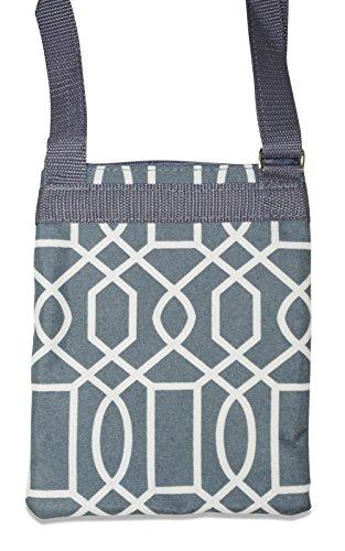 Moda Grey Geometric Bag Crossbody Ever wqOSX0q