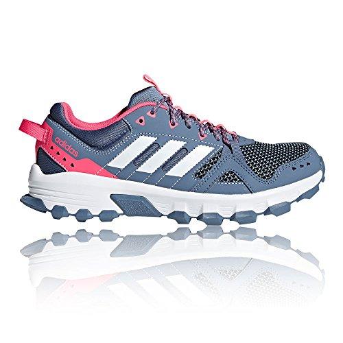 Adidas Dame Rockadia Trail Traillaufschuhe Blau (acenat / Ftwbla / Rostiz 000)
