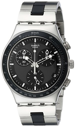 Swatch-Mens-YCS410GX-Windfall-Chronograph-Silver-Tone-Bracelet-Watch