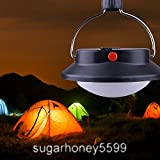 Tent Hanging Light Camping Outdoor Light 60 LED Portable Tent Umbrella Night Lamp Lantern Hiking