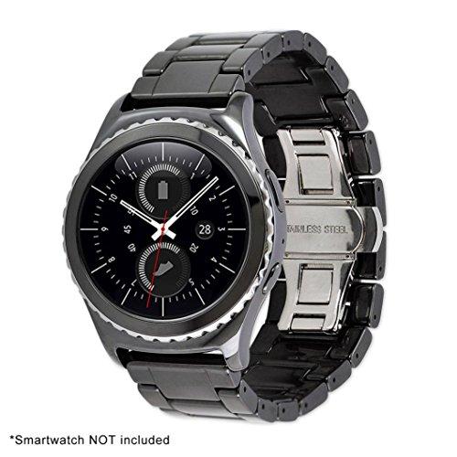 RTYou (TM) New Business Luxury Ceramics Watch Band Strap Bracelet For Samsung Gear S2 Classic by RTYou