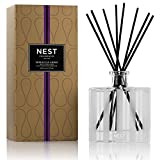 NEST Fragrances NEST08-MA Moroccan Amber Scented Reed Diffuser 5.9 oz, Black