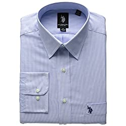U.S. Polo Assn. Men's Blue and White Stripe