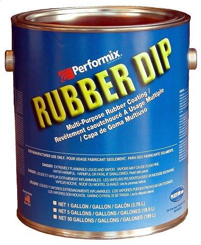 (Plasti Dip Multi-Purpose Rubber Coating - One Gallon (128oz) - Yellow)