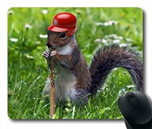 Rally Squirrel Best Oblong Shaped Mouse Pad