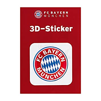 Fc Bayern Munich Car Sticker Sticker Decal 3d Logo Red Fcb Plus