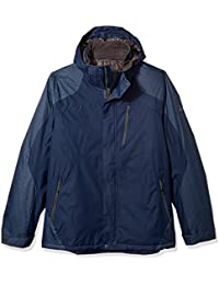 Men's Big and Tall Beacon Insulated Grid Dobby Mid-Weight Jacket
