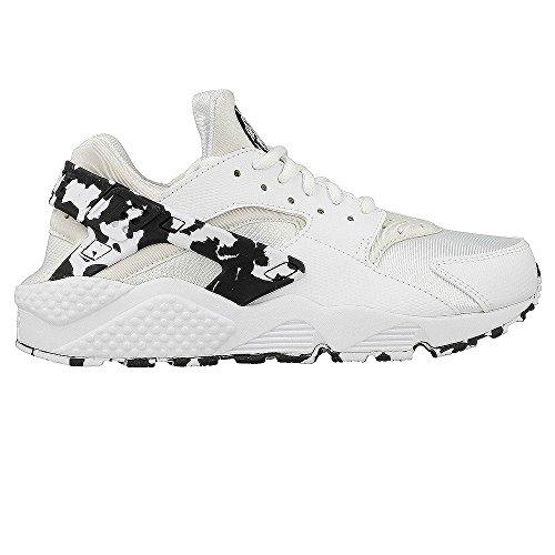 Nike, Donna, Wmns Air Huarache Run SE White, Pelle / Mesh, Sneakers, Bianco