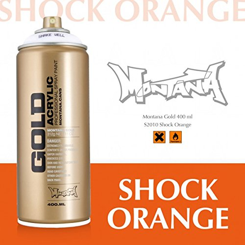 Montana Gold Acrylic Shock Orange