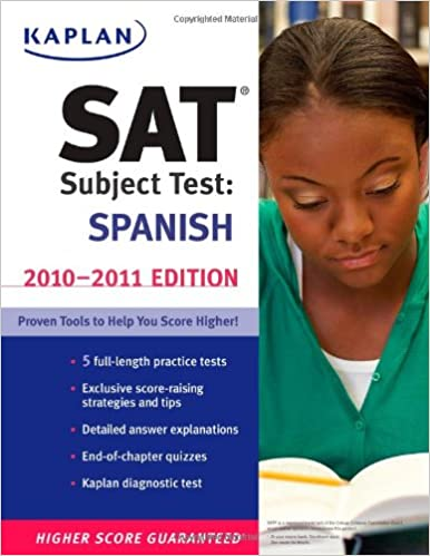 Is the Spanish AP test similar to the Spanish SAT subject test?