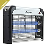 Aspectek Insect Zapper & Electric Indoor Insect Killer Mosquito, Bug, Fly & Other Pests Killer – Powerful 2800V Grid 20W Bulbs
