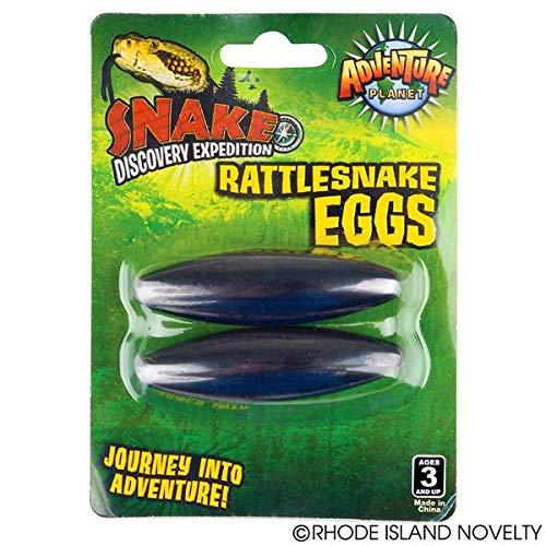 12 pairs - Large 2.5'' Rattle Snake Eggs Rattlesnake Singing Magnets by Rattler Eggs