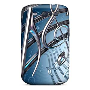 High Quality Large 3d Design 54 Cases For Galaxy S3 / Perfect Cases