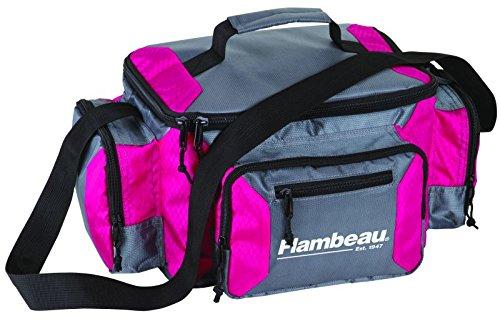Flambeau outdoors graphite 400 pink fishing bag masterbasser for Pink fishing gear