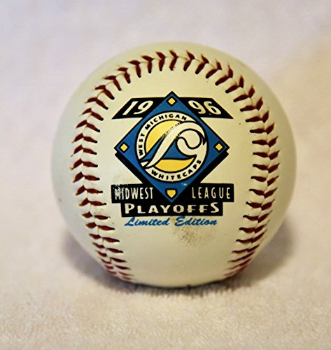 West Michigan Whitecaps 1996 Playoffs Limited Edition Fotoball Baseball