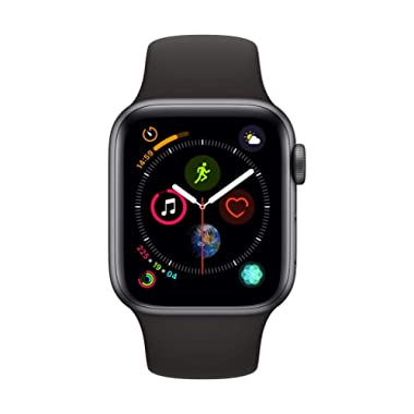 Apple Watch Series 4 (GPS + Cellular, 40mm) - Space Gray Aluminium Case with Black Sport Band