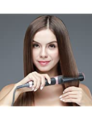 K-SKIN Tourmaline Ceramic Hair Straightener Straightening Brush Comb