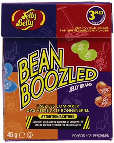 Jelly Belly BeanBoozled Jelly Beans 3rd Edition NEW Flavors Stinky Socks 1.6 oz (Jelly Beans Weird Flavors)