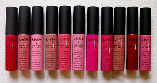 NYX souple Matte Lip Cream - Les 11 couleurs vous avez toujours voulu pour vous Lip Collection
