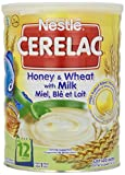 Nestle Cerelac Honey & Wheat with MIlk - 2.2 Pounds (1 Kg) - 2 Pack
