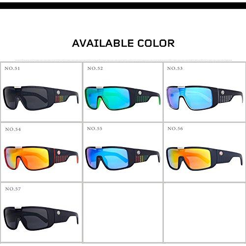 UV Grandes KTYX Lunettes des Coupe de Vent Lunettes colorées pour Protection Soleil C54 de Lunettes de de Lunettes pour Soleil Soleil Hommes Cadre ggqwPZ