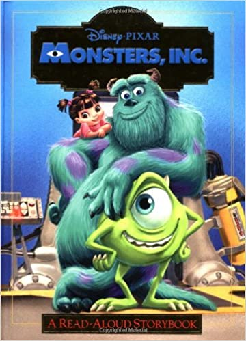 Monsters Inc Read Aloud Storybook Monsters Inc Rh Disney 9780736412353 Amazon Com Books