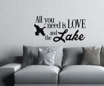 Wall Decor Plus More WDPM3847 Wall Decal Stickers All You Need is ...