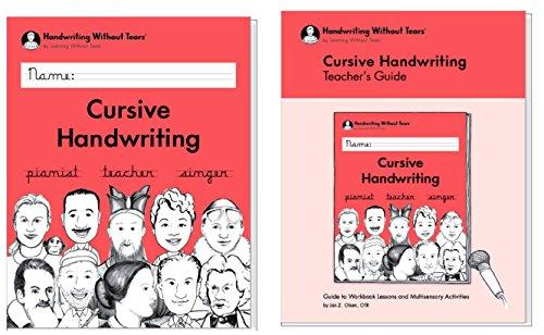 - Cursive Handwriting Workbook + Teacher's Guidebook, Grade 3 Handwriting without Tears, 3rd Edition 2018