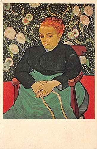 La Berceuse Madame Roulin Vincent Van Gogh Postcard Unused: Amazon ...