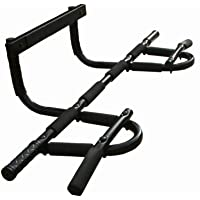 Door Bar Pull Up Gym, Pull up, chin up exercises (new model) (Black)