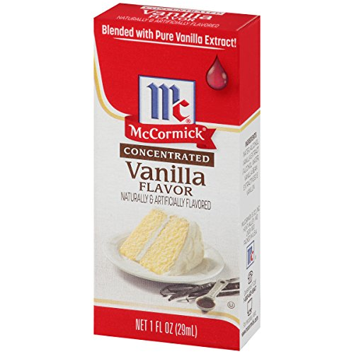 McCormick Concentrated Vanilla Flavor, 1 fl oz, Blended with Pure Vanilla Extract (Pack of 72) by McCormick (Image #3)