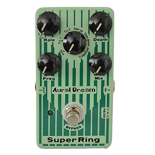 Midi Guitar Effects (Guitar Effects Pedal , Aural Dream Digital Effect Pedal Digital Five knobs of Super Ring Guitar Pedal)