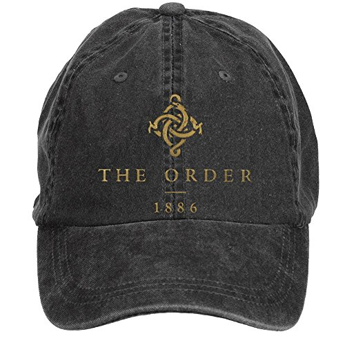 Tommery Unisex The Order 1886 Action Adventure Hip Hop Baseball Caps