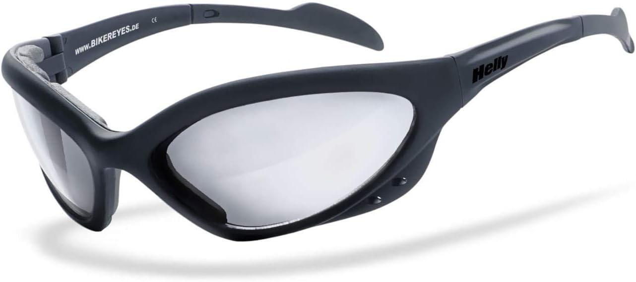 Helly No 1 Bikereyes SelbsttÖnend Bikerbrille Motorradbrille Beschlagfrei Winddicht Hlt Kunststoff Sicherheitsglas Nach Din En 166 Sportbrille Auto