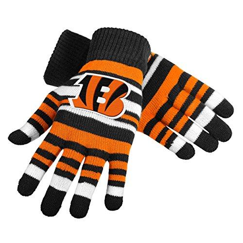UPC 889345173743, NFL Football Team Logo Stretch Gloves - Pick Team (Cincinnati Bengals)