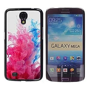 EJOY---Cubierta de la caja de protección la piel dura para el / Samsung Galaxy Mega 6.3 / --Explosiones de color