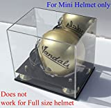 DisplayGifts UV Protected MINI Football Helmet Display Case Stand AC-MH19