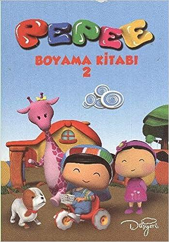Pepee Boyama Kitabı 4 Model Kolektif Amazoncomtr