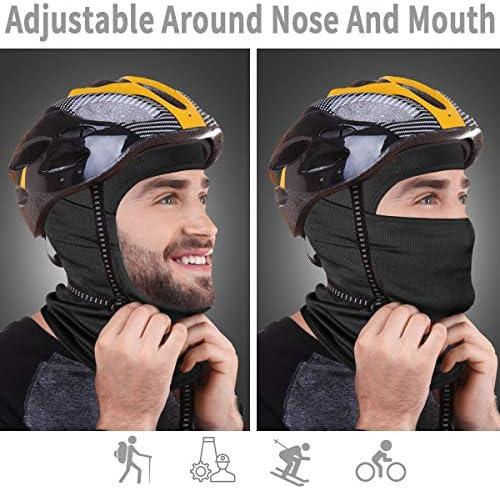 Achiou Balaclava Face Mask UV Protection for Men Women Sun Hood Tactical ski 4