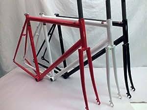 Unbranded Mercier Kilo TT Stripper Track Single Speed Frame & Fork Reynolds Cro Moly Steel (Black Magic, 47cm)