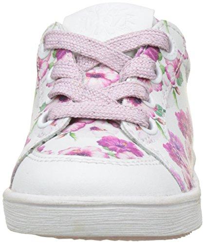 white Michelle Braqeez pink Fille 700 Baskets Blanc Maan xZ1qx7XB