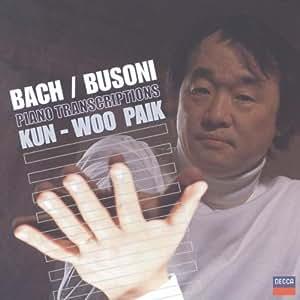 Bach/Busoni: Piano Transcriptions