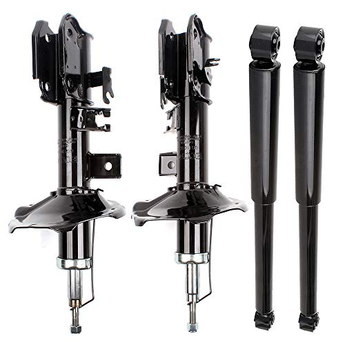 OCPTY Front Rear 335033 335032 343379 Shock Absorbers Struts Fit for 2002-2003 Infiniti QX4, 2000-2004 Nissan Pathfinder Pack of 4