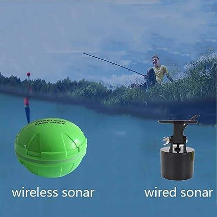 36m Wireless Fischfinder Angeln Sonar Sensor Bluetooth App für iOS Android Grün