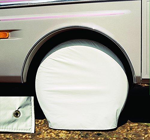 Adco White Ultra Tyre Gard Wheel Cover